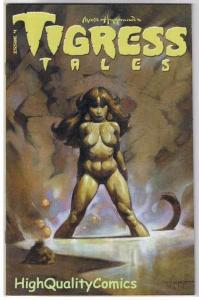 TIGRESS TALES #4, VF+, Limited, Femme,Mike Hoffman, 2001, more Variant in store