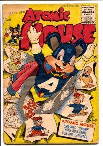 Atomic Mouse #18 1956-Charlton-Al Fago art-superhero funny animals-FR