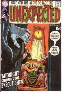 UNEXPECTED (TALES OF) 117 VG-F  March 1970 COMICS BOOK