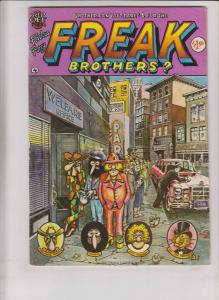 Freak Brothers #4 FN (4th) rip off press GILBERT SHELTON underground comix