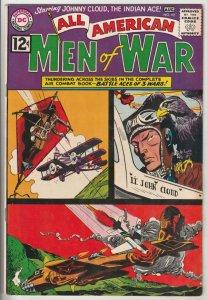 All-American Men of War #92 (Aug-62) VF/NM High-Grade Johhny Cloud