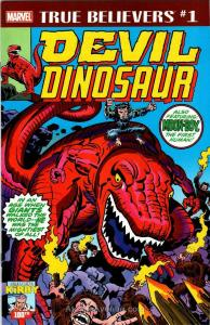 True Believers: Kirby 100th—Devil Dinosaur #1 VF/NM; Marvel | save on shipping -