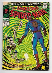 Amazing Spider-man Annual #5 Awesome Romita Cover G+ 2.5