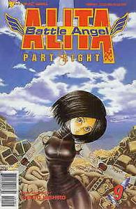 Battle Angel Alita Part 8 #9 VF/NM; Viz | save on shipping - details inside