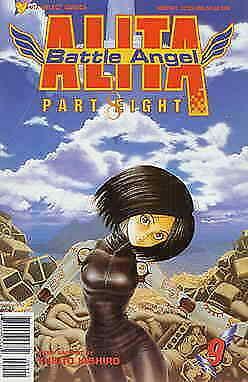 Battle Angel Alita Part 8 #9 VF/NM; Viz | save on shipping - details inside