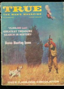 TRUE MAGAZINE OCT 1958-GEORGE ROMNEY-TOM LOVELL-AMC CAR VG