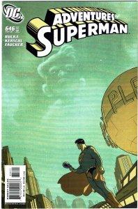 Adventures of Superman #646 NM+