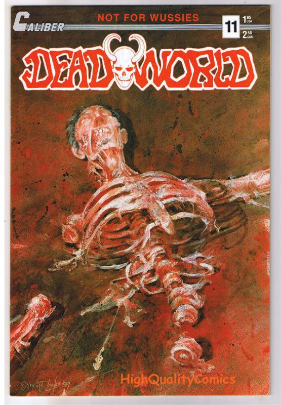 DEADWORLD 11, VF+, Vincent Locke, Zombies, Undead, 1986, more Horror in store