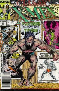 Classic X-Men #17 (Newsstand) VG; Marvel   low grade comic - save on shipping -