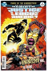 Justice League of America #11 Rebirth Main Cvr (DC, 2017) NM