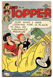 Tip Topper #25 1953- Fritzi Ritz- PEANUTS- Golden Age- vg-