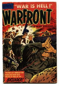 Warfront #11 Pre-code WAR comic-Famous RED LICE cover