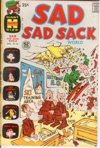 SAD SAD SACK WORLD (1964-1973) 35 F+ COMICS BOOK