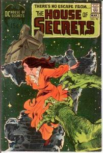 HOUSE OF SECRETS 90 FINE Neal Adams cvr, inks  1971 COMICS BOOK