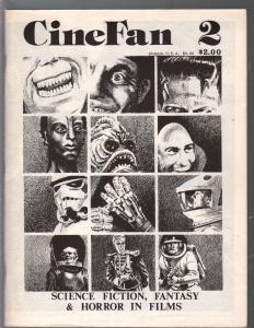 CineFan #2-Summer 1980-sci-fi-horror-fantasy-ERB-HP Lovecraft-VF