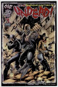 UNDEAD #1, NM+, Chaos, Pulido, Zombies, Death, Horror, 2002,more indies in store