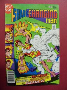 SHADE THE CHANGING MAN #3 (VG 4.0 TO 4.5) Steve Ditko art DC Comics