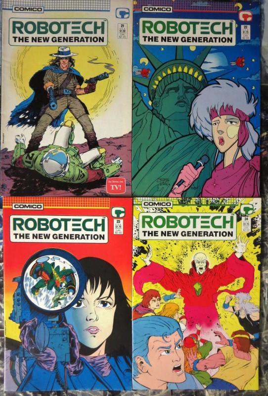 Comico 1985 NEW UNREAD VFN//NEAR MINT Robotech The New Generation Comic Book #4