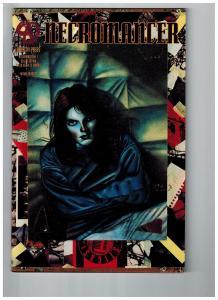 Necromancer # 1 NM 1st Print Anarchy Press Comic Book Deluxe Edition KS7