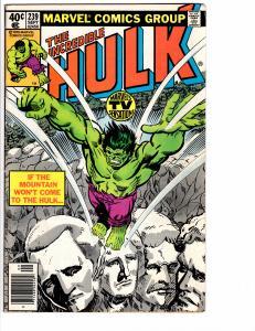 Incredible Hulk ( 1968 ) 239 Fine (6.0)