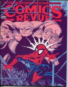 Comics Revue #51 1990-Phantom-Batman-Spider-man-Flash Gordon-Modesty Blaise-VF