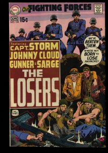 Our Fighting Forces #124 VF/NM 9.0