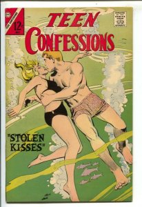 Teen Confessions #45 1967-Charlton-12¢ cover price-Dick Giordano swimsuit cov...