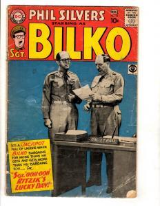 Sgt. Bilko # 16 VG DC Silver Age Comic BOok Phil Silvers CBS TV Photo Cover JL16