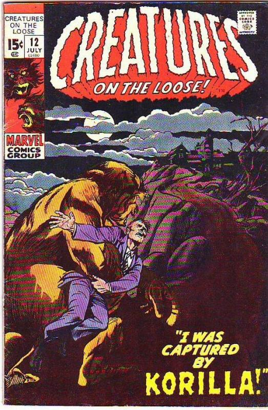 Creatures on the Loose #12 (Jul-71) FN/VF Mid-High-Grade Korilla