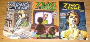 7 Days to Fame #1-3 VF/NM complete series REALITY TV SHOW ON SUICIDE after hours