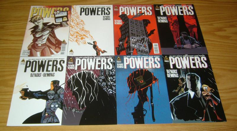 Powers vol. 3 #1-11 VF/NM complete series - brian bendis - michael oeming set