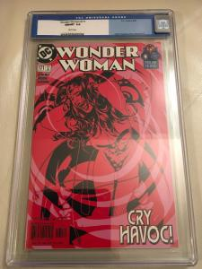 Wonder Woman 171 CGC 9.8 White Pages Adam Hughes Cover