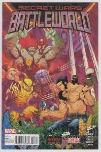 Secret Wars Battle World #3 (VF-NM)