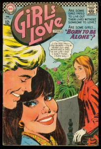 GIRLS LOVE STORIES #125 1967-DC COMIC-ROMANCE-SODA SHOP VG