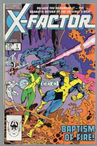 X FACTOR 1 FN+ Feb. 1986 COMICS BOOK
