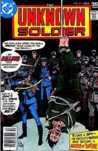 Unknown Soldier (1977 series) #210, VF+ (Stock photo)