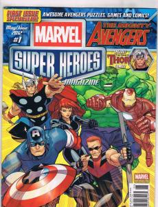 Marvel's Heroes Return Special Wizard Publication Magazine Comic Book 1997 J118