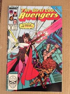 The West Coast Avengers #43