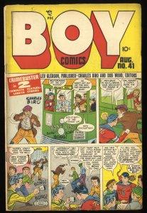 Boy Comics #41 VG+ 4.5