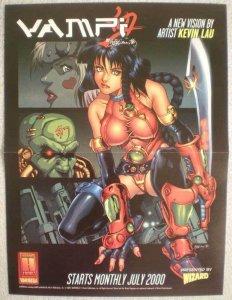 VAMPI Promo poster,Vampirella, 10x13, 2000,  Unused, more Promos in store