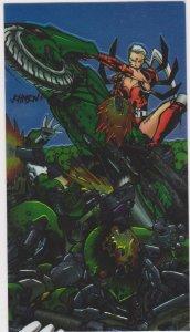 1995 Wildcats All-Chrome #49 Zealot