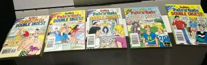 ARCHIE'S PALS 'n' GALS DIGEST MAGAZINE LOT of 5 Early-Mid 2000's FINE/newish #9