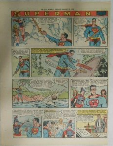 bvSuperman Sunday Page #1033 by Wayne Boring from 8/16/1959 Tabloid Page Size