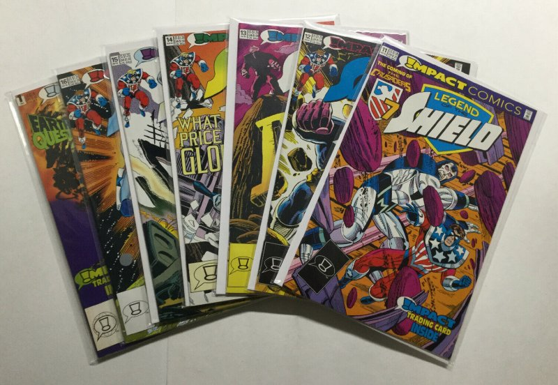 Legend Of The Shield 1-16 Lot Run Set Very Fine-Near Mint Vf-Nm 9.0 Image