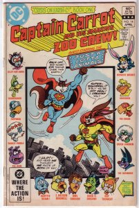Captain Carrot and His Amazing Zoo Crew   #14 GD (Crisis on Earth-C)
