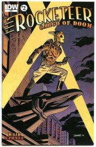 ROCKETEER Cargo of DOOM #2, VF+, Dave Stevens, Bettie Page, 2012, more in store