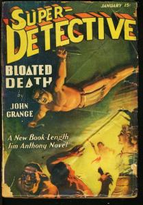 SUPER DETECTIVE 1941 JAN-RARE PULP-JIM ANTHONY G