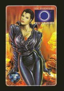 Tekno Comix Gene Roddenberry's LOST UNIVERSE 1994 Promo Phone Card