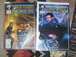 Star Trek: Deep Space Nine, The Maquis #1 +SIGNITURE SERIES 1+LIGHTSTORM 1  +IDW