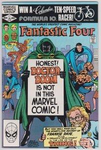 Fantastic Four #238(VG)1981 John Byrne story/art Direct edition